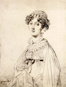 Jean Auguste Dominique Ingres - lady william Henri cavendish bentinck né lady Marie Acheson