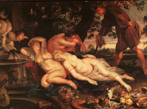 Peter Paul Rubens - cimone et efigenia