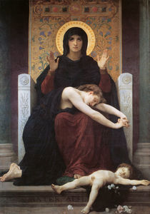 William Adolphe Bouguereau - Vierge consolatrice