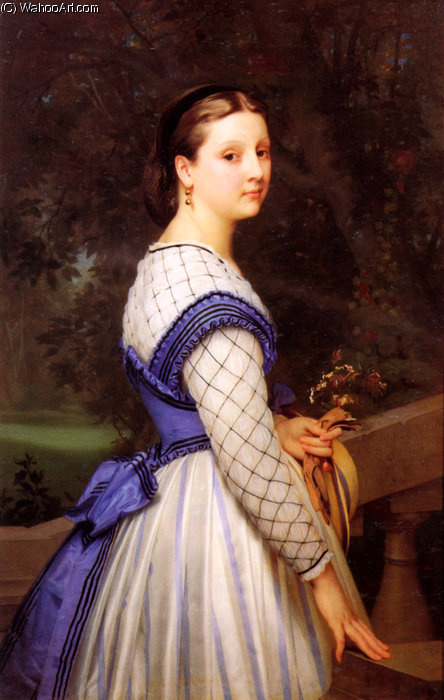 La comtesse de montholon de William Adolphe Bouguereau (1825-1905, France)