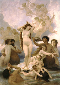 William Adolphe Bouguereau - Birth de Vénus