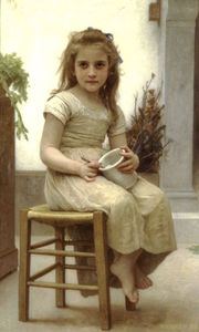 William Adolphe Bouguereau - Petit Gourmand