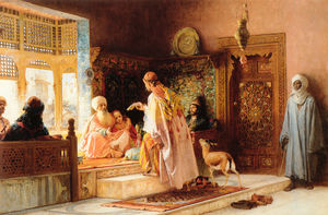 Frederick Arthur Bridgman - le Messager