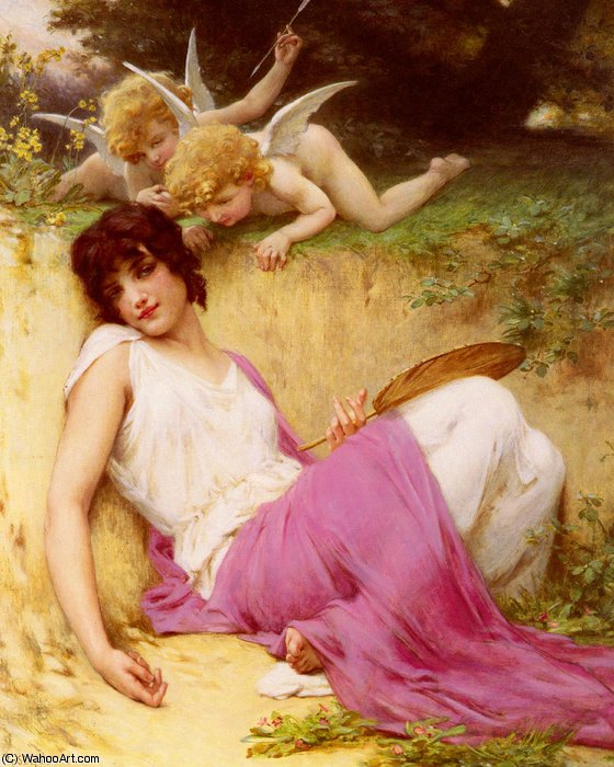 L innocence de Guillaume Seignac (1870-1924, France)