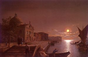 Henry Pether - Moonlight à Venise