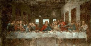 Leonardo Da Vinci - The Last Supper pré