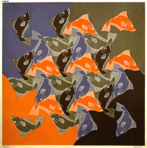 Maurits Cornelis Escher - poisson