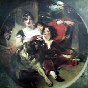 Thomas Lawrence - mme maguire et son fils BGG