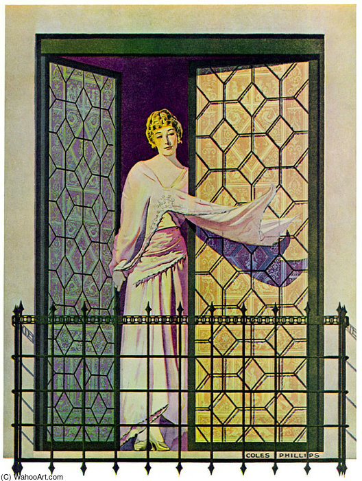 Untitled (818) de Coles Phillips (1880-1927, United States)