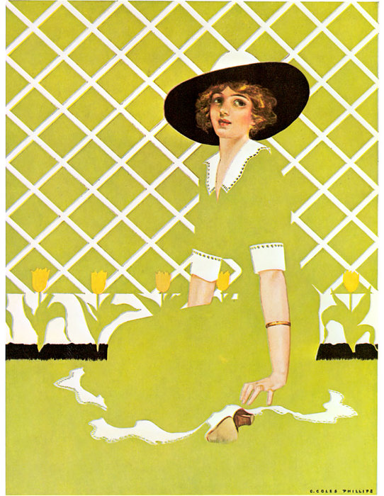 Untitled (142) de Coles Phillips (1880-1927, United States)