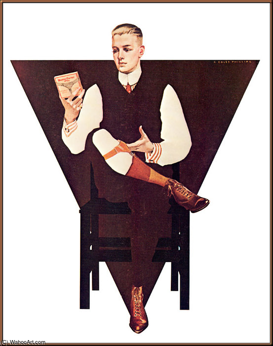 Untitled (268) de Coles Phillips (1880-1927, United States) | Reproductions D'art Sur Toile | WahooArt.com
