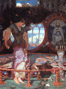 William Holman Hunt - La Dame de Shalott