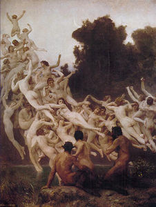 François Boucher - Bouguereau william les oréades
