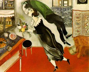 Marc Chagall - Anniversaire , Moma NEW YORK
