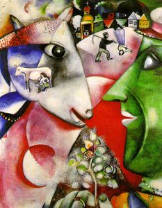 Marc Chagall - i et le village , Moma NEW YORK