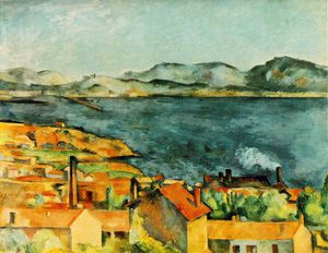 Paul Cezanne - La baie de l Estaque