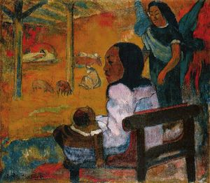 Paul Gauguin - Bébé, eremitaget