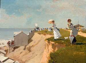 Winslow Homer - long branche , new jersey