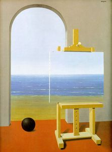 Rene Magritte - condition humaine