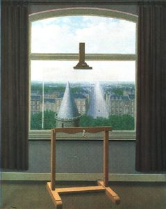 Rene Magritte - Euclidienne promenades , 1955 , minneapolis inst . des arts