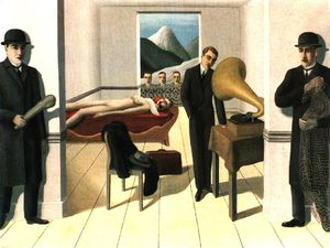 Rene Magritte - Le moma assassin menacé NEW YORK