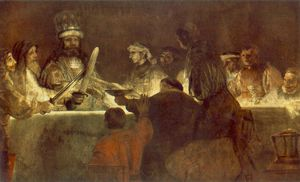 Rembrandt Van Rijn - La conspiration des bataves nationalmu