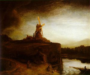 Rembrandt Van Rijn - Le moulin ca ng washington