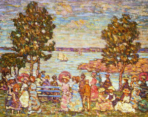 Maurice Brazil Prendergast - Le Holiday