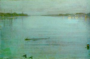 James Abbott Mcneill Whistler - Cremorne lumières