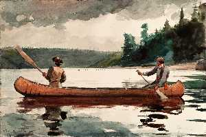 Winslow Homer - de jeunes canards