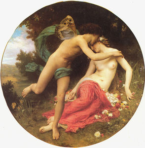 William Adolphe Bouguereau - la flore et Zéphyr