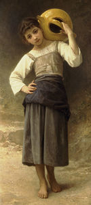 William Adolphe Bouguereau - Jeune Fille Allant A La Fontaine