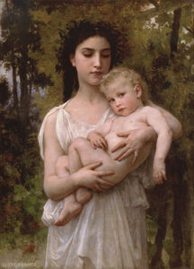 William Adolphe Bouguereau - peu frère