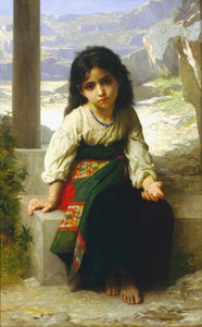 William Adolphe Bouguereau - Menue mendiante