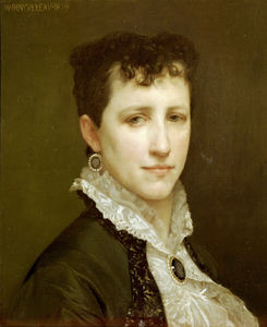 William Adolphe Bouguereau - portrait de mlle elizabeth gardner Bouguereau