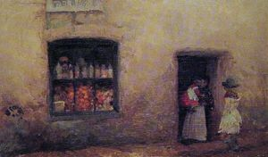 James Abbott Mcneill Whistler - Le Sweet-Shop