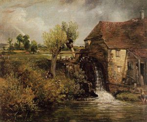 John Constable - Gillilngham moulin