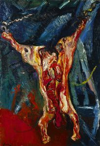 Chaim Soutine - (Carcasses de bœuf) Minneapolis Institute of Arts