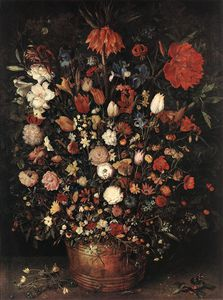 Jan Brueghel The Elder - les grands bouquet
