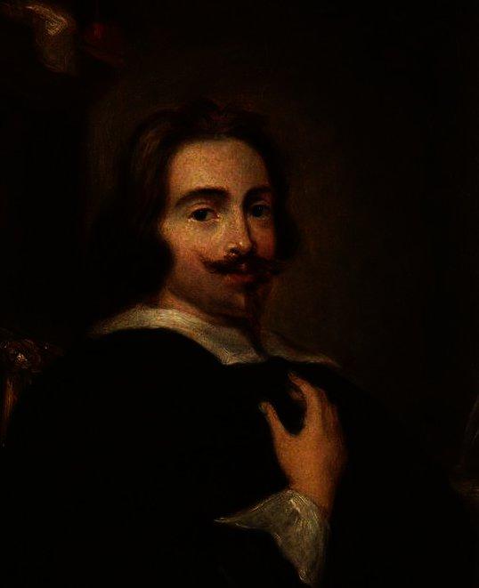 portrait d un jeune homme avec Spanish,Style Barbe et moustache de Anthony  Van Dyck