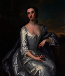 John Smibert - lady christian dalrymple , Femme de Monsieur james dalrymple , Bt , Fille de Thomas , 6th Comte de Haddington