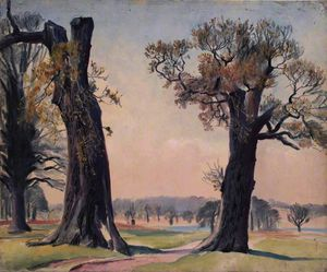Dame Laura Knight - Richmond» parc