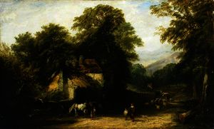 William James Muller - le Village Forge