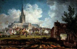 Edward Dayes - Norwich bishop Cathédrale de l South-East