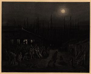 Paul Gustave Doré - Londres docklands