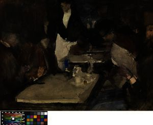 Isaac Lazarus Israels - Restaurant -Mille Colonnes