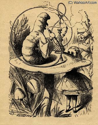 Les conseils d un Caterpillar de John Tenniel (1820-1914, United Kingdom)