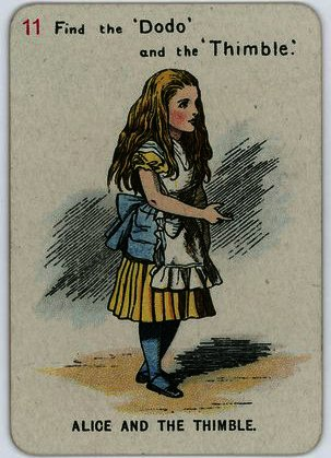 Alice et le Thimble de John Tenniel (1820-1914, United Kingdom)