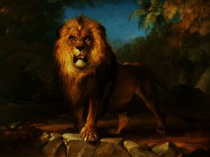 William Huggins - une du Lion