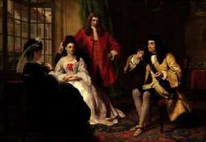 William Powell Frith - seigneur foppington Relative ses aventures